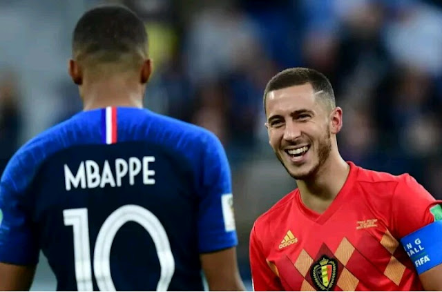 Eden Hazard, Tips Kylian Mbappe Above Luka Modric for Ballon D'or