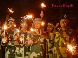 Sandesh to Soldiers for Diwali Greetings