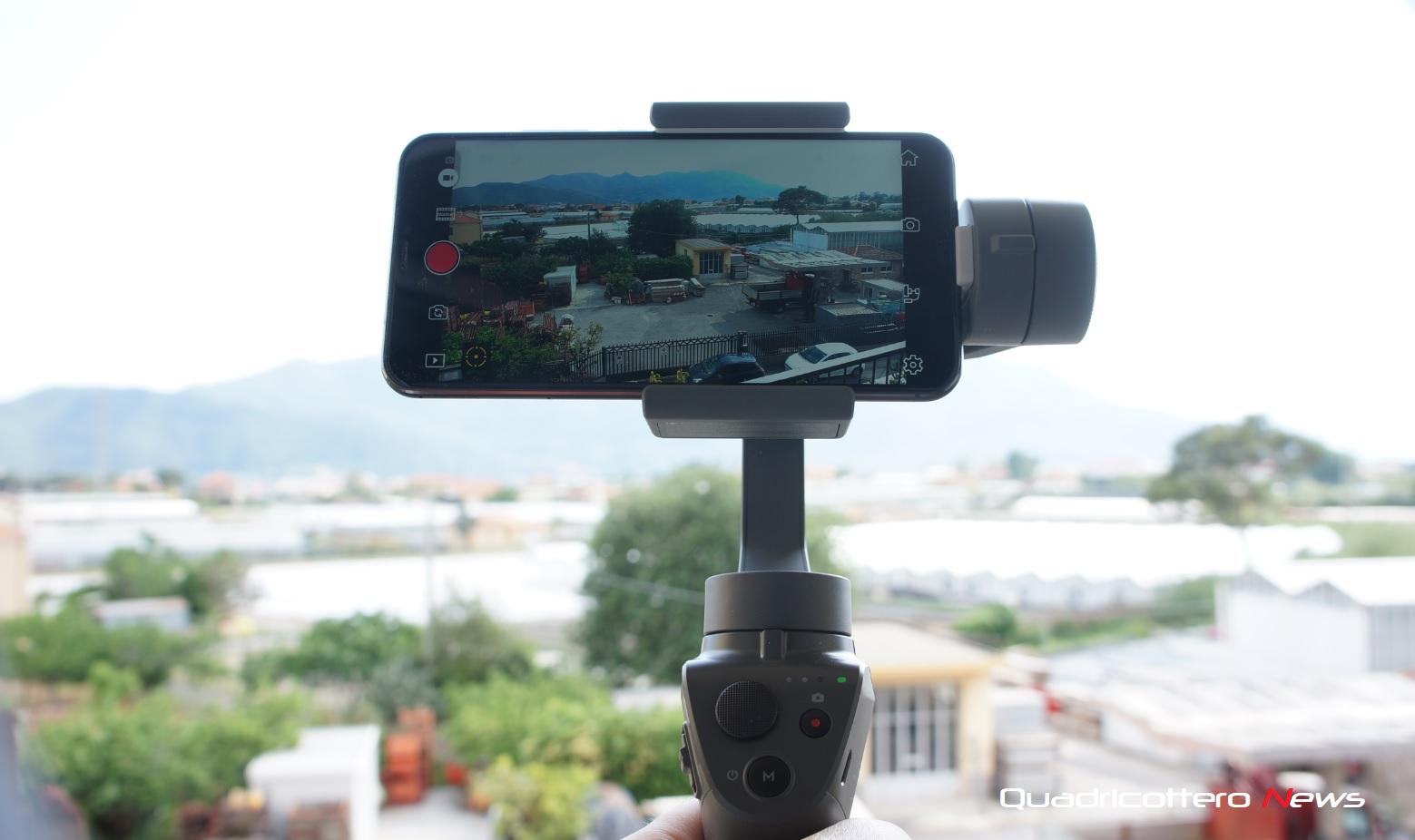DJI Osmo Mobile 2, aggiornamento OSD sulla DJI GO e funziona anche