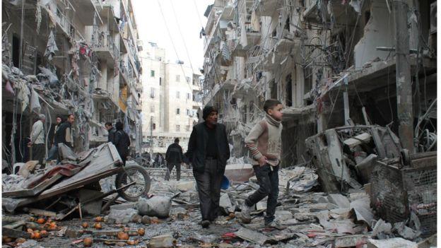 22 Warga Sipil Terbunuh dalam Serangan Gabungan di Suriah