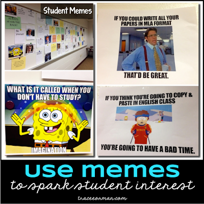 Memes can spark student interest  Read more: www.traceeorman.com