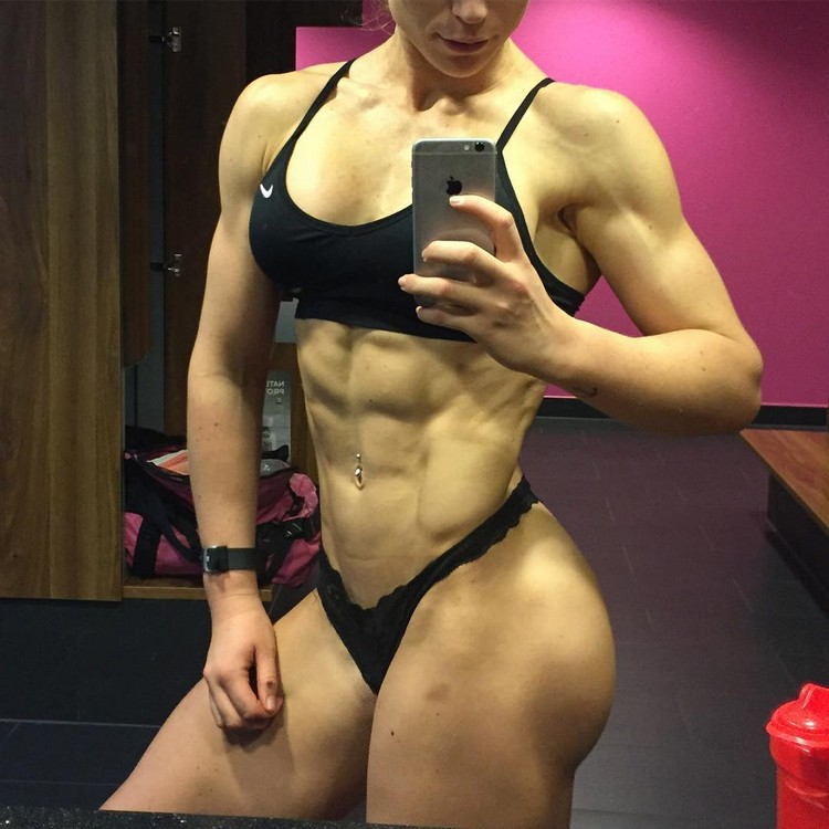 Extreme ABS!!  IFBB PRO Frida Paulsen Stern