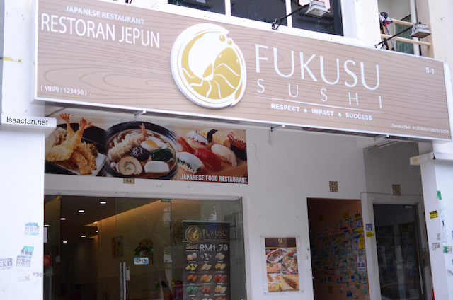 Fukusu Sushi @ Kota Damansara