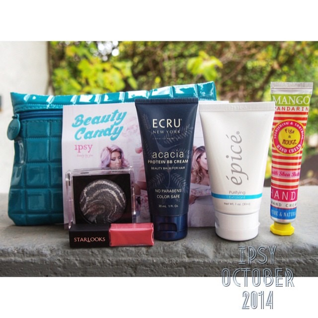 Beauty Box: Ipsy October 2014