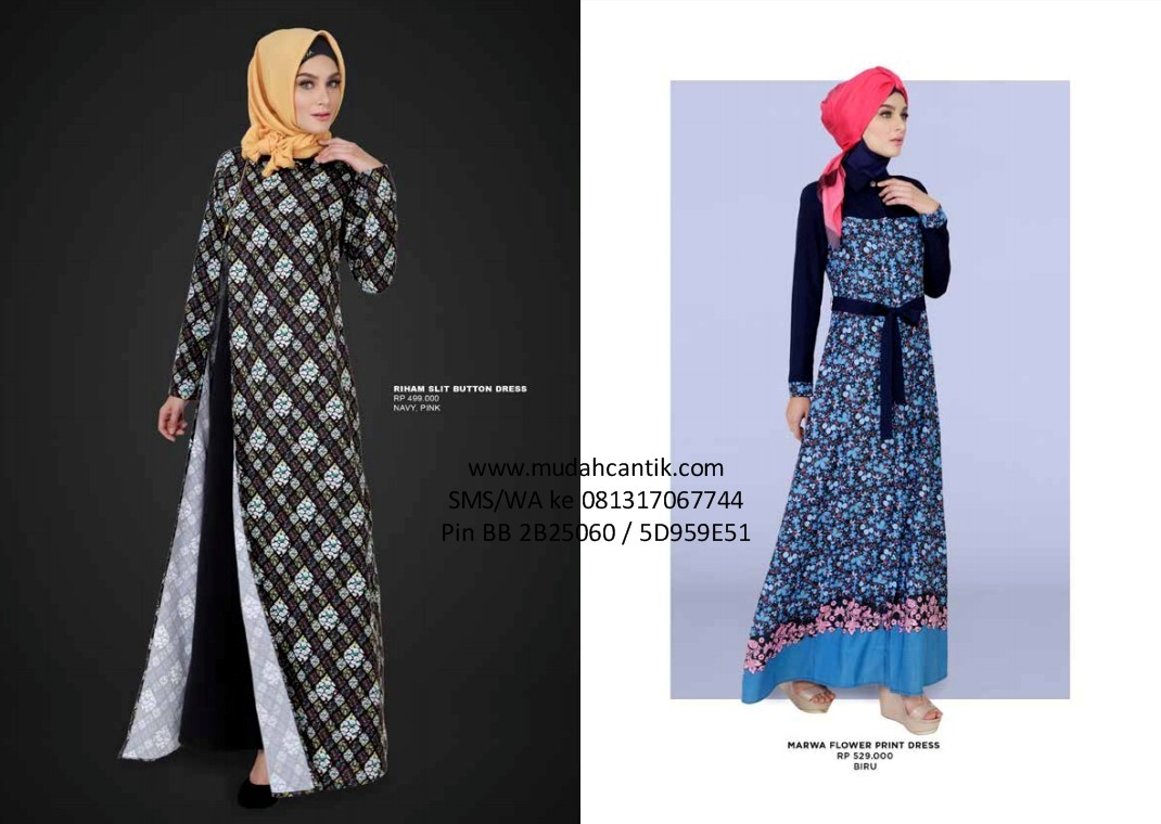 Toko Baju Muslim Cantik Aneka Model Baju Lebaran Hijab