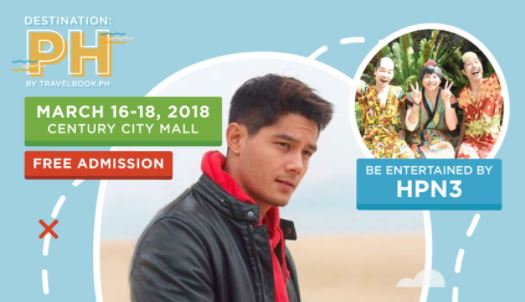Daniel Matsunaga TravelBook.ph travel fair 2018