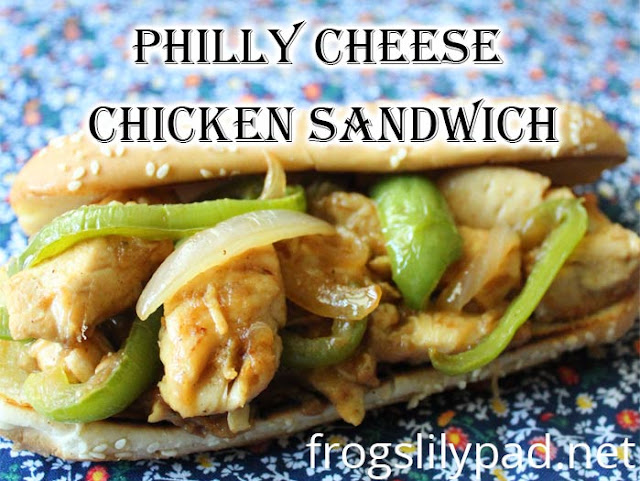 Are you in a food rut? Then you'll want to try these Philly Cheese Chicken Sandwiches. #recipes #chicken #cheese