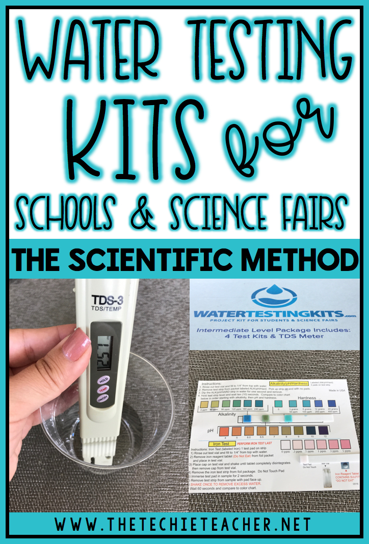Investigate acid rain, chemical erosion and weather while learning about the Scientific Method using Water Testing Kits for Schools and Science Fairs. Makes a great science experiment!