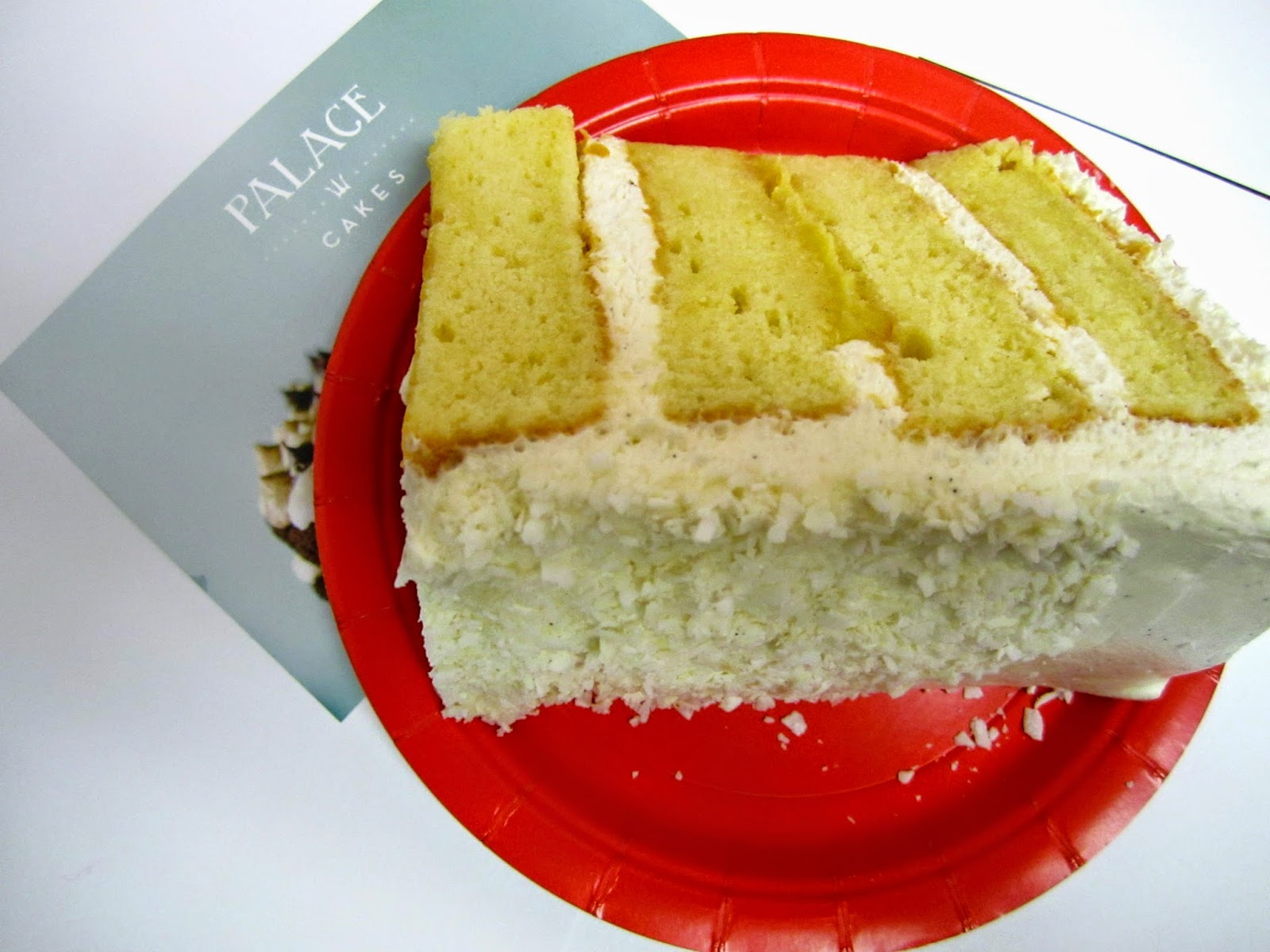 Coconut cake from Palace Cakes Portland, Oregon