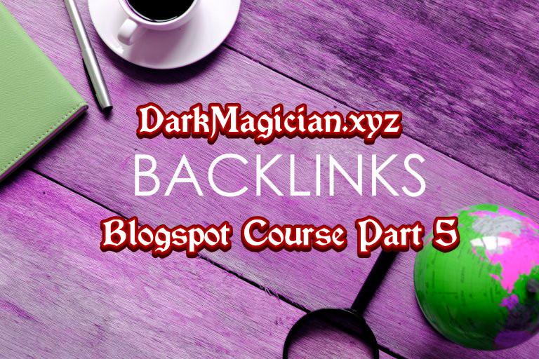 Blogspot সহ যে কোন সাইটের জন্য Backlink তৈরী করার উপায় Blogger Course Part 5