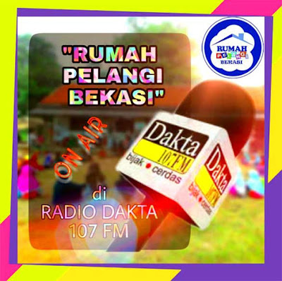 Rumah Pelangi Kembali On Air Di Taman Pustaka Dakta Radio