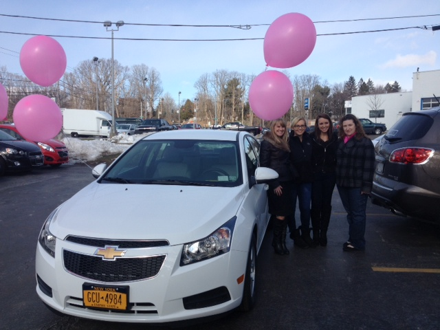 Mary Kay Chevy Cruze Pick Up at Hoselton Chevrolet!