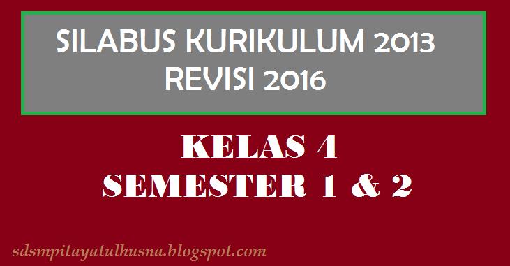 Download Tematik Terpadu Kelas 4 Semester 1 Amp 2 Kurikulum 2013 Sekolah Ayatulhusna