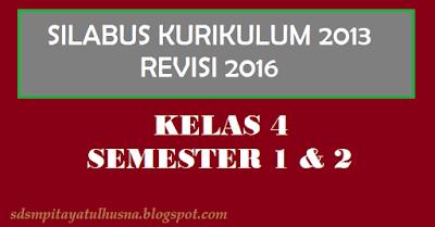 Download Tematik Terpadu Kelas 4 Semester 1 & 2 Kurikulum 2013