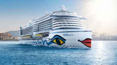 AIDA Cruises New AIDAperla To Be Delivered 2 Months Early - July 2017