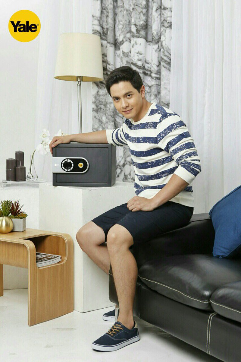 Alden Richards for Yale digital safe