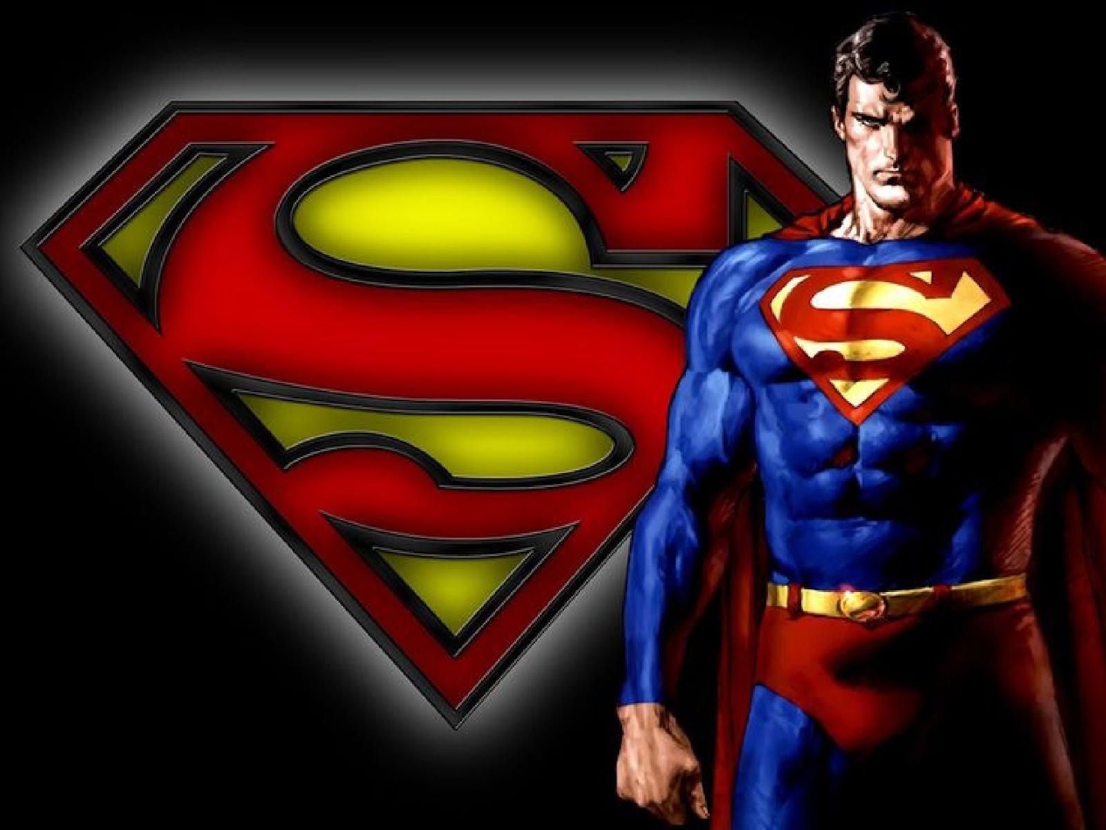 Animasi Kartun Keren Kolek Gambar Wallpaper Superman Lucu
