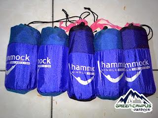 Hammock lokal made indonesia, bahan kuat dan berkualitas