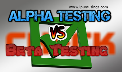 IPU MCA Semester 2 - Software Engineering - Alpha Testing vs Beta Testing