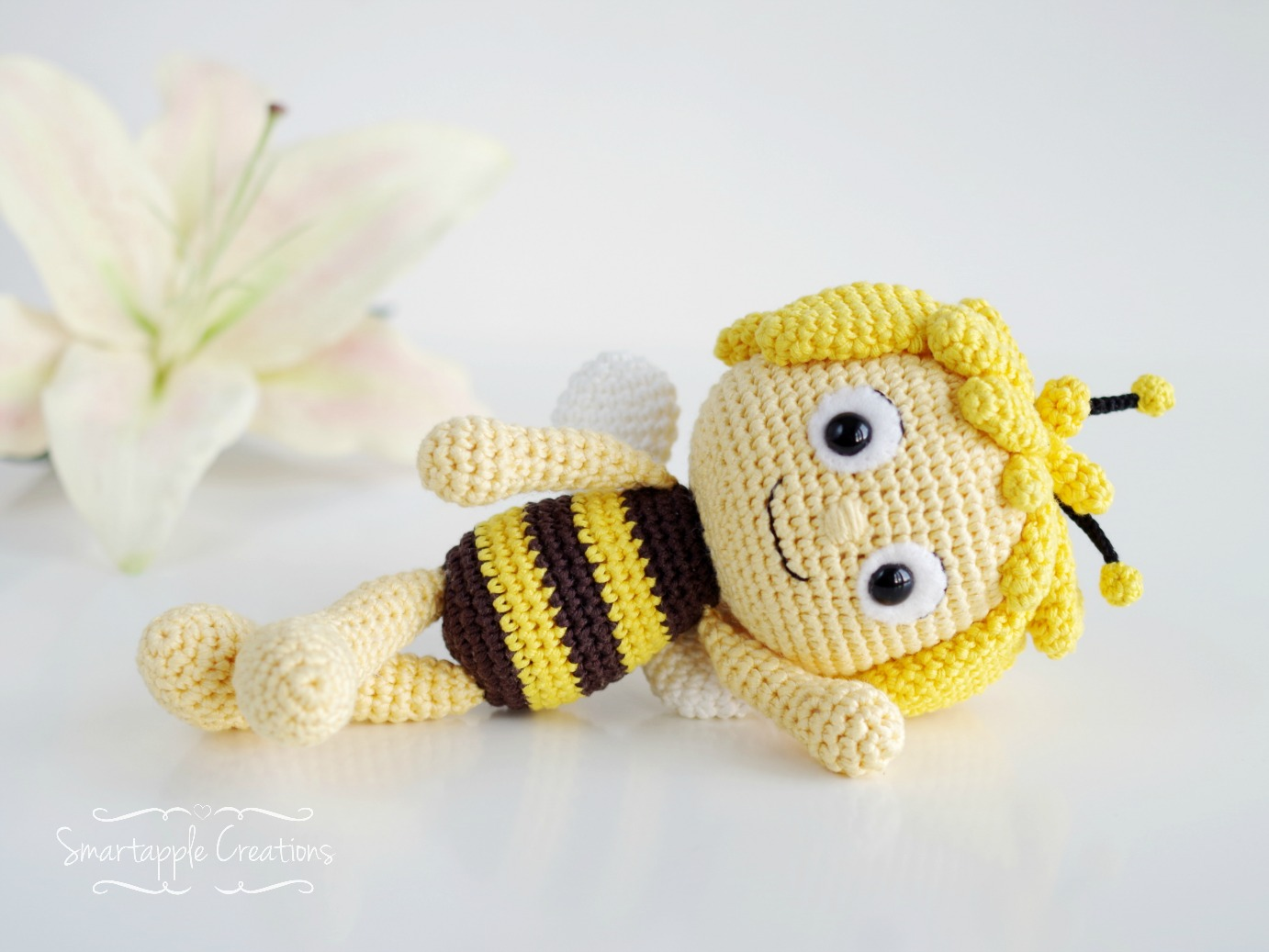 Ravelry: Barry the Bee Amigurumi pattern by Mariska Vos-Bolman | 1037x1382