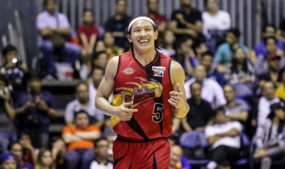 San Miguel overwhelms Ginebra by 25 points, levels series 1-1