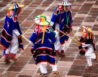 Foto de danzantes del baile la danza de los viejitos