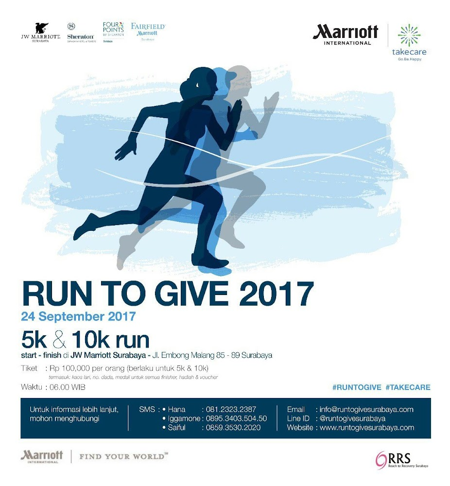 Run To Give - Surabaya • 2017