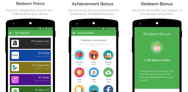 appkarma cocok dijadikan solusi mendapatkan voucher google play gratis