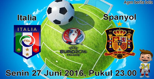 prediksi bola italia vs spanyol euro 2016