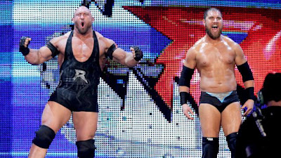 Ryback Axel Curtis Mr Perfect Team Split up WWE Superstars