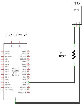 Reefwing Robotics: Espressif ESP32 Tutorial - IR Remote Control