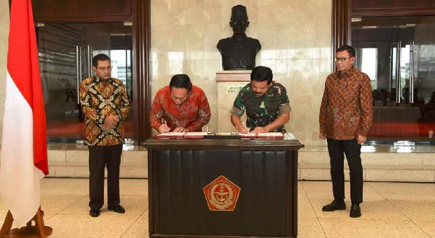 TNI Kerja Sama dengan Tiga Bank BUMN