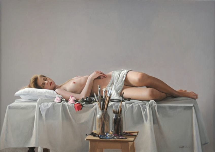 Benito Cerna, 1960 ~ Figurative painter