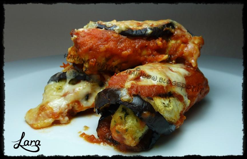 http://cucinaconlara.blogspot.it/2014/08/involtini-di-melanzane-farciti.html