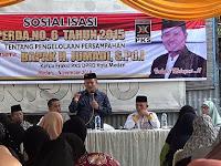 Sosialisasi Perda Pengelolaan Persampahan, Jumadi: Sampah Bukan Momok Kita