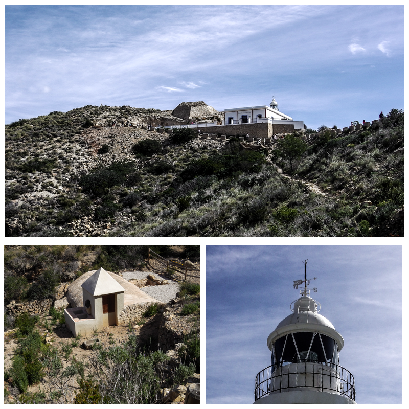 Serra Gelada: Faro del Albir, Torre Bombarda y Aljibe