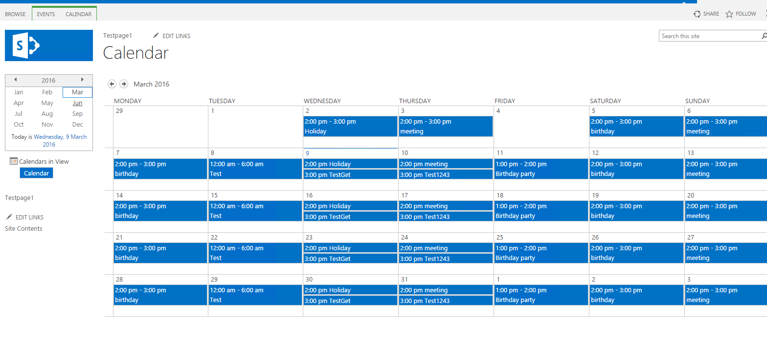 Samit s Blog point 2013 calendar overlay feature manual and automated approach
