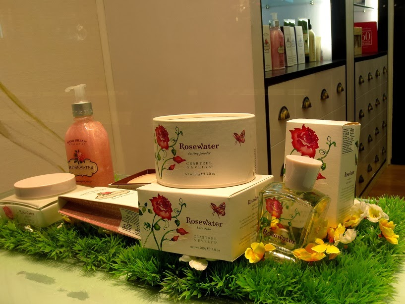 Crabtree & Evelyn London Rosewater Kolkata India