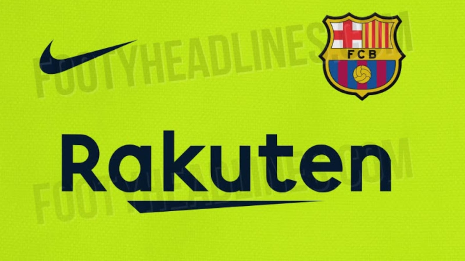 New Barcelona Away kit featured 2018-19 leaked