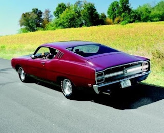 1969 Ford Torino Talladega Street Version Rear View