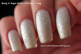 Barry M Royal Glitter Collection