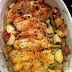 Garlic and Lemon Chicken with Green Beans and Red Potatoes