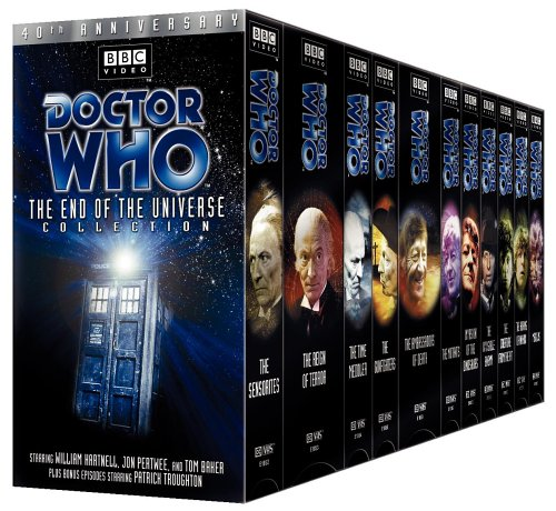 Doctor Who The End of the Universe Collection VHS Boxed Set