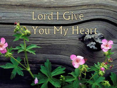 lord i give you my heart chords pdf