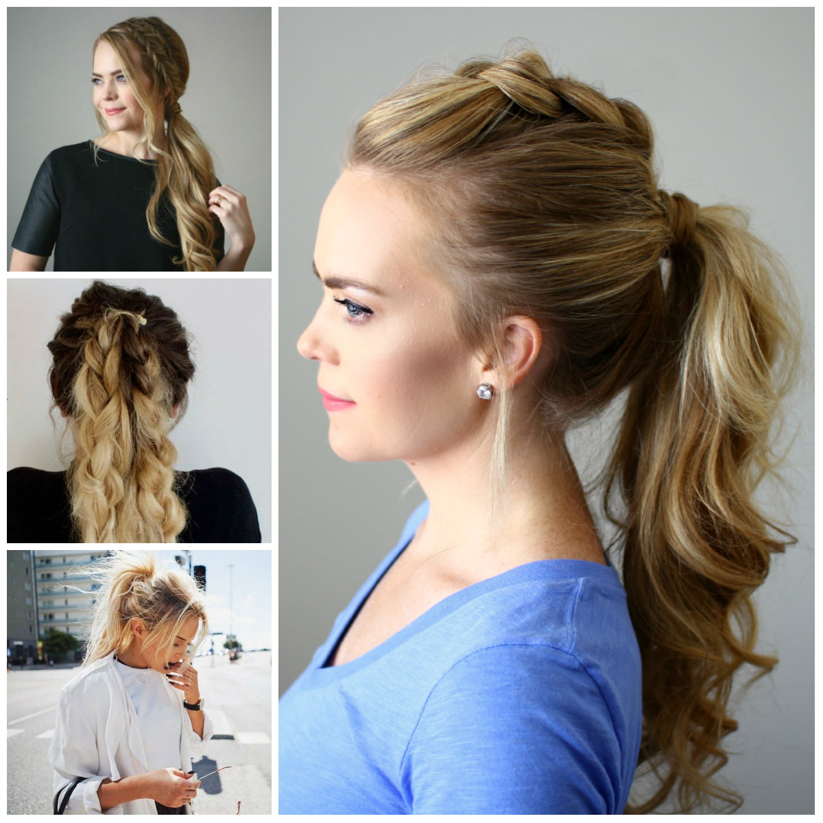 How to Do Easy Hairstyles at Home 2017 for Girls - Romantic Love Messages, Quotes and Wishes
