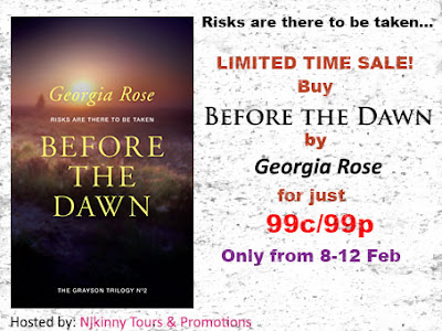 99c/99p Sale: Before the Dawn (The Grayson Trilogy #2) by Georgia Rose (8-12 Feb)
