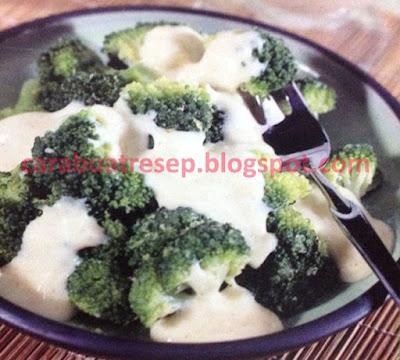 Foto Resep Brokoli Saus Keju Sederhana Spesial Asli Enak