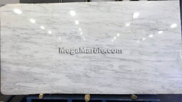 Asian White Marble Slab For Countertops