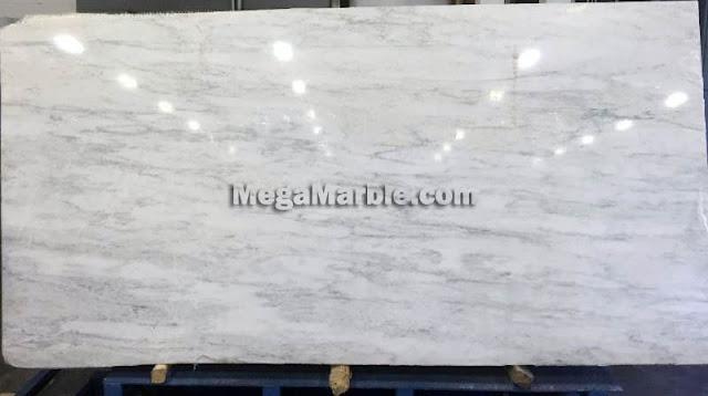 Asian White Marble Slab For Countertops