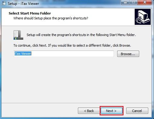 iTaxviewer 1.4.9 bước 2